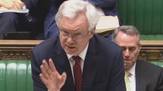 Министр по делам выхода из ЕС Дэвид Дэвис
