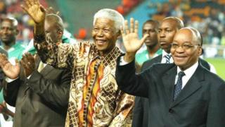 """La fondation Nelson Mandela a elle aussi condamné cette peinture, la qualifiant de """"désagréable""""."""