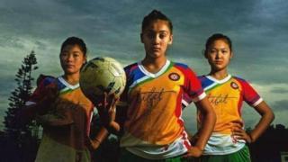 Тибетские футболистки