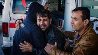 Musul'daki intihar saldırılarında yakınlarını kaybedenler