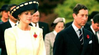 Prince and Princess of Wales during their visit to South Korea in 1992