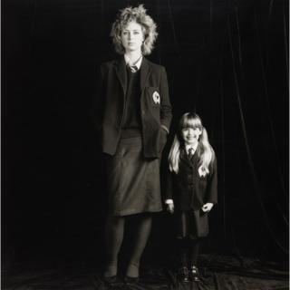 Senior and Junior Girl from 'Pictures from No Man's Land' 1984