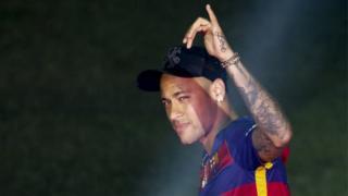 24-year-old Barcelona forward Neymar