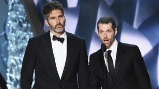 Games of Thrones creators, David Benioff and DB Weiss.