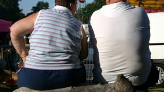 Overweight people (generic picture)