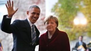 Barack Obama and Angela Merkel have enjoyed a strong working partnership