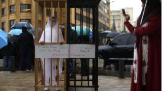Benzer bir yasanın bulunduğu Lübnan'da da yasanın iptal edilmesi için kampanyalar düzenleniyor.