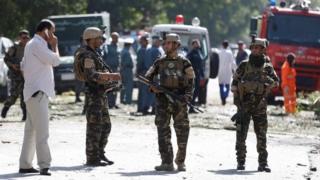 Soldados en Kabul