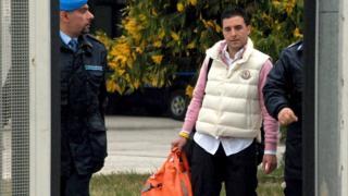 Giuseppe Salvatore Riina leaves prison in 2016