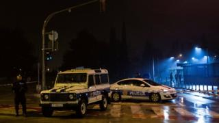 Explosion at US embassy in Montenegro