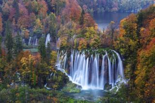 Plitvice Falls by Stefano Coltelli