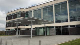 Mold Crown Court, where Flintshire Magistrates' Court is based