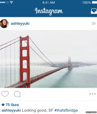 Instagram picture of San Francisco