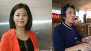 蘇昌蘭(左)和陳啟棠案拖延已久(圖片來源:劉曉原律師微博)