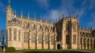 A common look for reveals St George's Chapel at Windsor Castle,