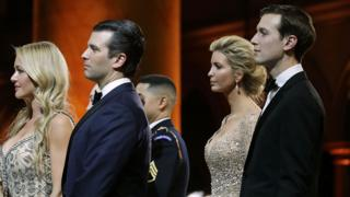 Donald Trump Jr and Jared Kushner