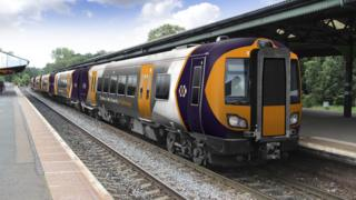 A West Midlands Rail train