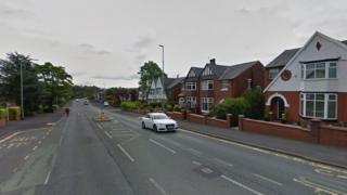 Bury Road in Rochdale