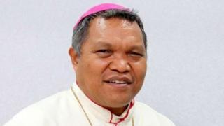 Former Bishop Hubertus Leteng
