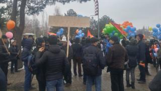 Бишкектеги сөз эркиндигине арналган жөө жүрүш