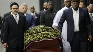 Muhammad Ali personally planned his own funeral in the years before his death