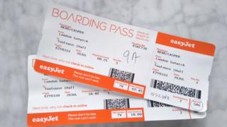 Casper Read's boarding passes