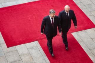 Порошенко і Лукашенко
