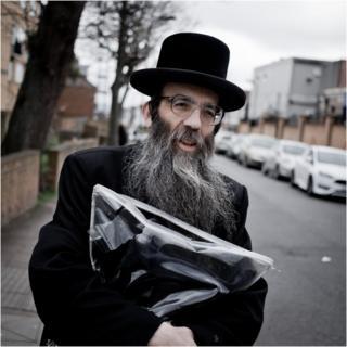 Mr Israel, a teacher at the Jewish school
