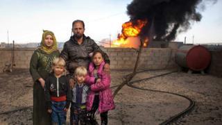 Ali Hassan y su familia