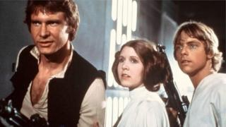 Harrison Ford da Carrie Fisher a fim din Satr Wars