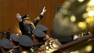 中國政協會議上演奏國歌(2016年)
