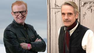 Chris Evans and Jeremy Irons