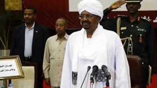 Madaxweynaha Sudan Al-Bashiir