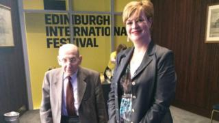 Jock Dewar and Pauline McLean