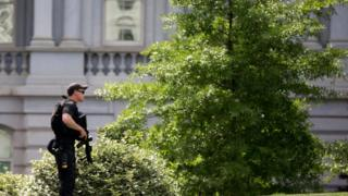 Secret Service guard