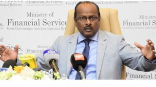 Le ministre mauricien des services financiers Sudhir Sesungkur