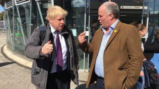 Boris Johnson and Andrew RT Davies