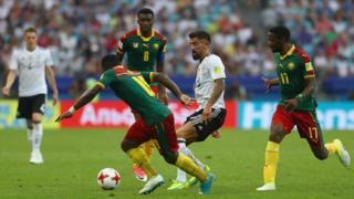 المنتخب الألماني قدم مباراة متوسطة امام الكاميرون