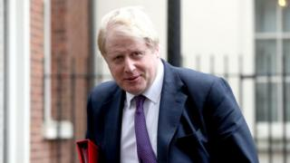 Foreign Secretary Boris Johnson will have two days of talks with White House officials