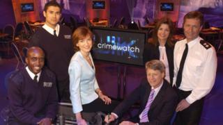 Crimewatch team photo
