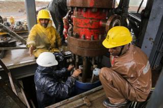 Drilling site