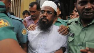 Mufti Abdul Hannan oo dhexda ka muuqda ayaa dil lagu xukumay 2008dii
