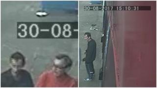 CCTV stills