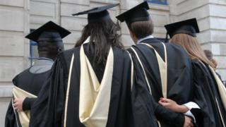 LSE students at their graduation