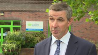Ulster Farmers' Union president Ian Marshall