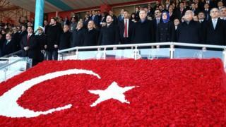 Эрдоган и турецкие министры