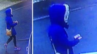 CCTV images of woman