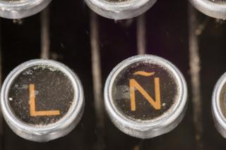 Teclas de máquina de escribir