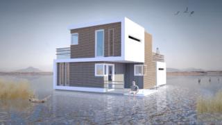 """Diseño de la """"casa prenupcial"""""""