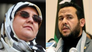 Abdul Hakim Belhaj and Fatima Boudchar